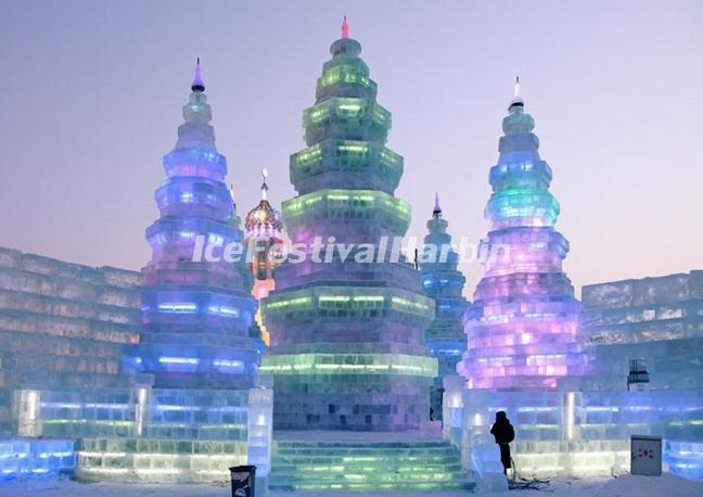 Ice and Snow World Harbin China 2013