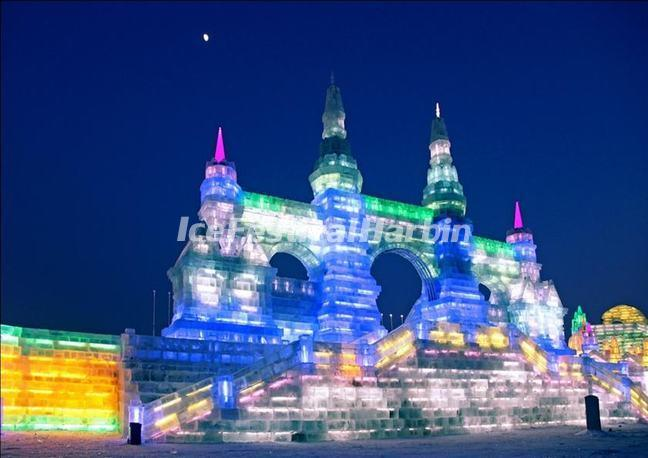 The Ice and Snow World in Harbin China
