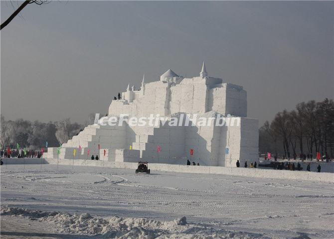 Harbin Ice Festival 2014 Snow Sculptures