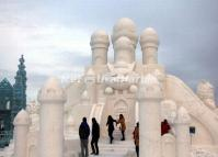 Snow Sculptures Harbin 2014