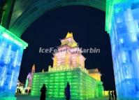 The Night of Harbin during the Ice Festival 2014