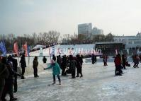 Harbin Ice Spinning-top