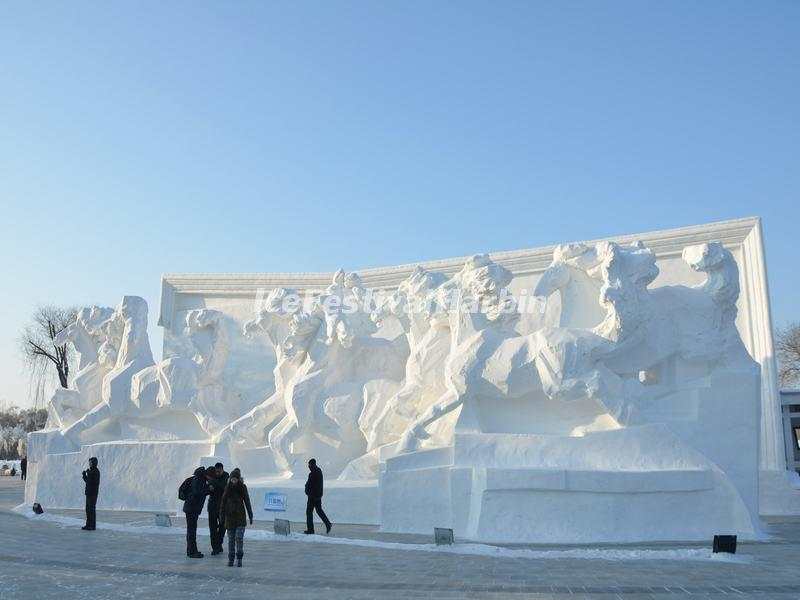 Harbin Sun Island Snow Sculpture Art Expo