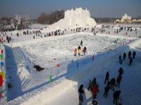 2014 Harbin Sun Island Snow Sculpture Art Expo