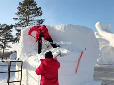 2021 Harbin China National Snow Sculpture Competition
