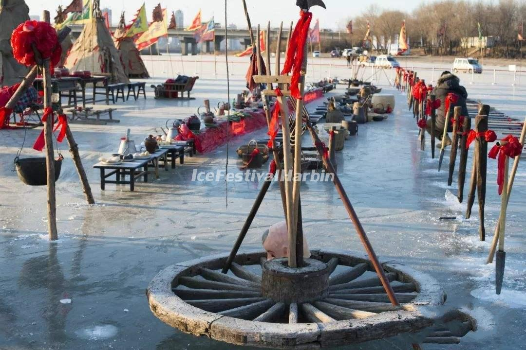 2021 Harbin Ice Collecting Festival