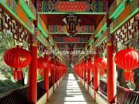 The Long Corridor in Kunming Bamboo Temple