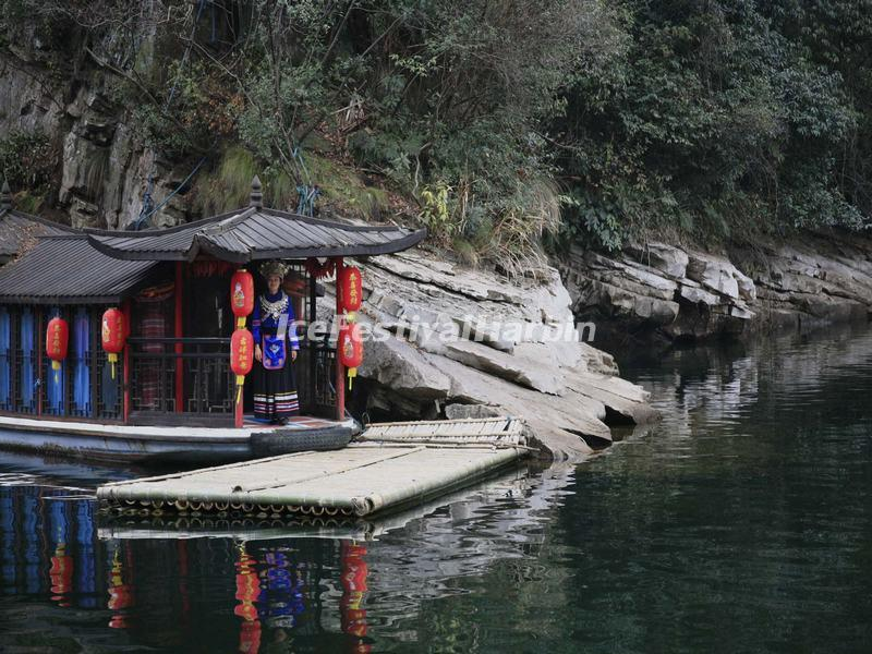 Zhangjiajie Baofeng Lake in Winter