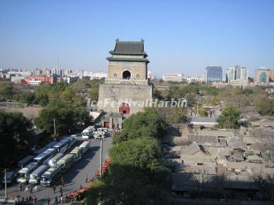 The Bell Tower in Beijing
