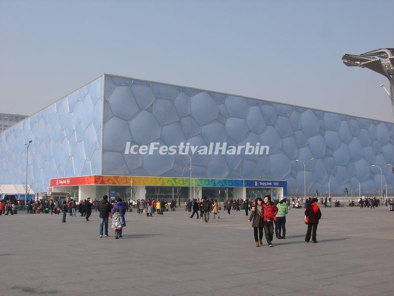 Beijing National Aquatics Center Outside