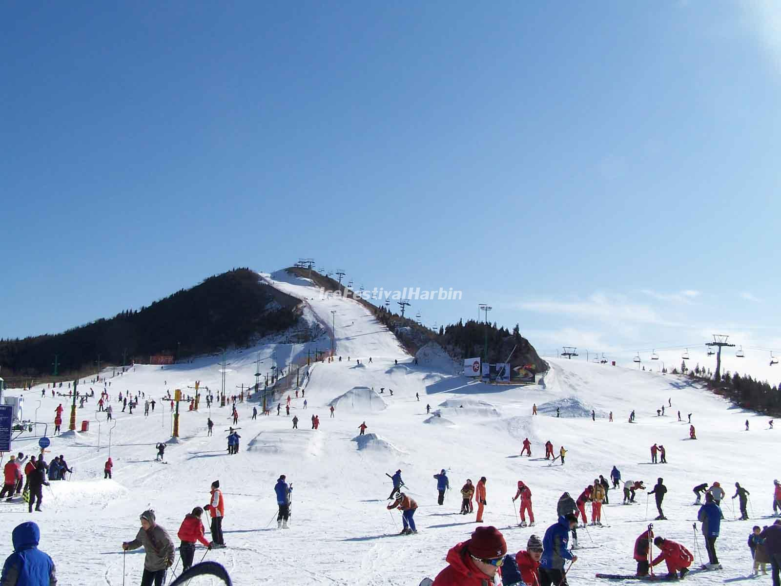 photos of shijinglong ski resort, incredible pictures & images of