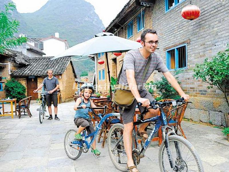 Bike Riding in Yangshuo