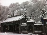 Qiqihar Bukui Mosque in Snow