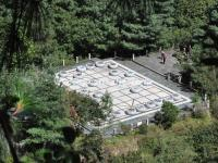 The Giant Chess Board and Chesses in Cangshan Mountain