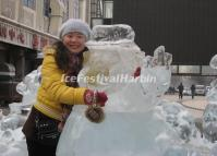 Harbin Central Street Ice Sculpture