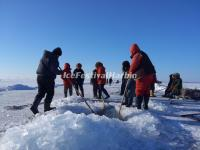 Winter Fishing Chagan Lake