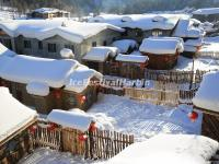China Snow Village