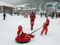 China's Snow Town Snow Tubing