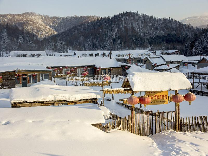 China's Snow Town
