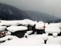 The Lumbermen's Hourse in China's Snow Village