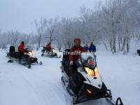 Snowmobile to Yangcao Mountain