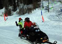 Snowmobiling in China's Snow Town, Mudanjiang