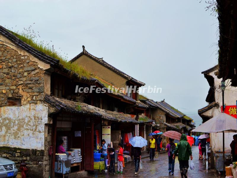 A Street in Dali Ancient City