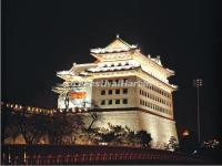 Beijing Dongbianmen Gate Night Scene