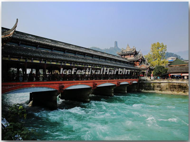 The South Bridge in Dujiangyan Irrigation System
