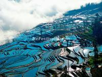 Duoyishu Rice Terraces in the Morning