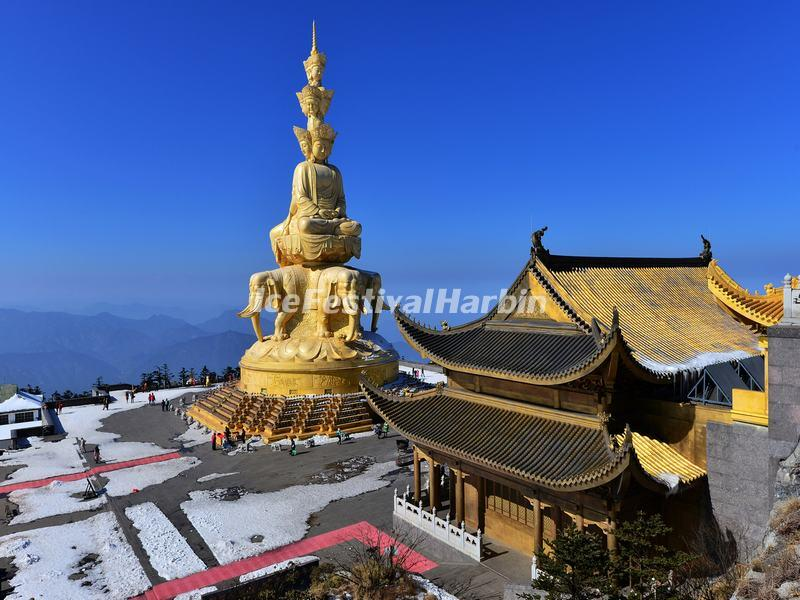 Buddhist Temple at Mt Emei