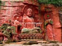 The Buddhist Sculptures in Wannian Temple, Emei Mountain