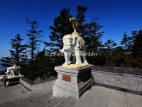 Elephant Sculptures on Emei Mountain