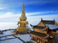 Buddhist Architecture on Mount Emei