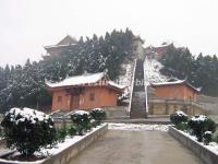 Wannian Temple at Emei Mountain