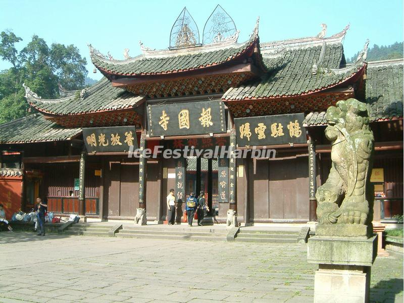 Baoguo Temple on Mt. Emei, China