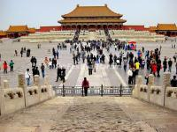 Tourists in Forbidden City