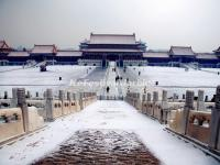 Snowscape in Forbidden City
