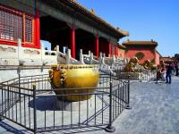 A Brass Vat in Forbidden City