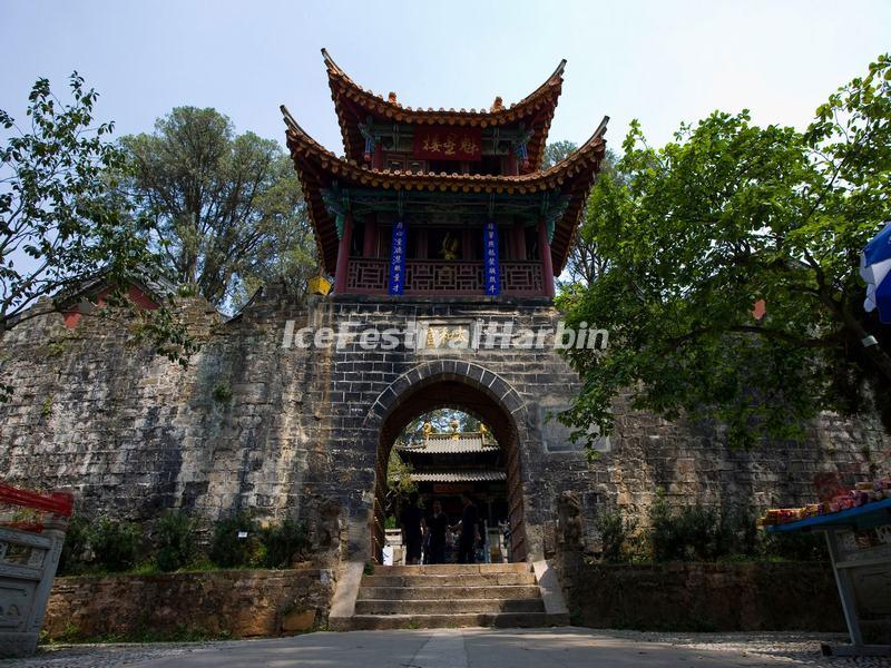 The Fortification in Kunming Golden Temple