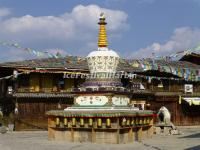 The Prayer Pagoda in Gyalthang Ancient Town