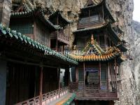 The Building of Datong Hanging Temple