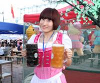 Enjoy Free Beer on Harbin Beer Festival