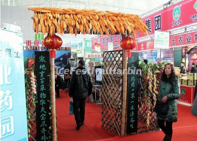A Farm Product Exhibition Hall of Harbin Cold Zone Expo 2013