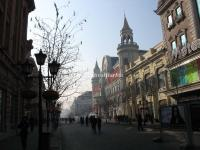 Harbin Gogol Street Russian Style Buildings