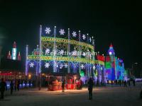 Entrance of Harbin Ice and Snow World 2015