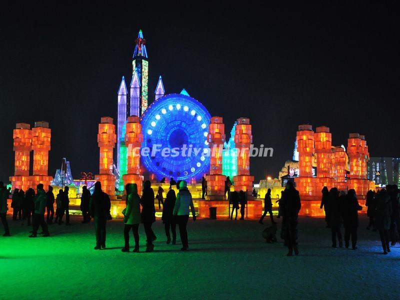 Harbin Ice and Snow World Amusement Park
