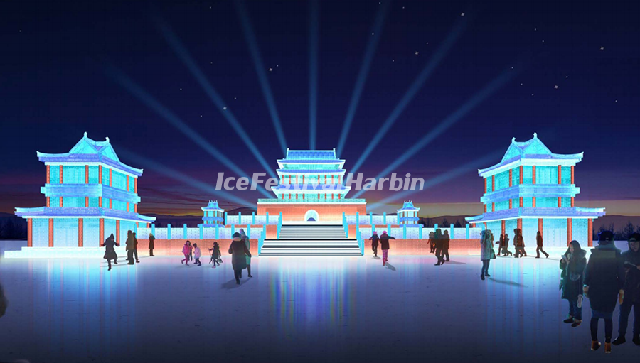 Harbin Ice and Snow World 2021 - Dream Stage