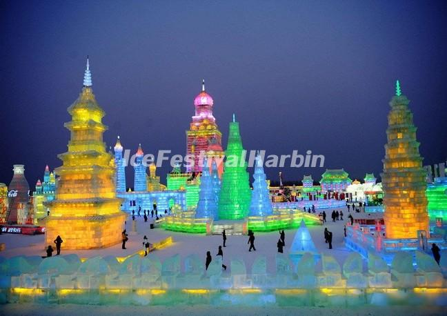 Harbin Ice and Snow World Ice Carvings