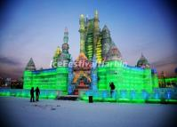 Ice Castle in Harbin Ice and Snow World